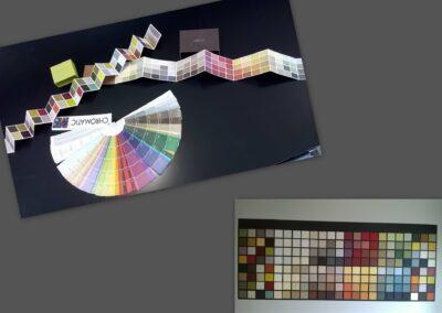 Palette de couleurs décoration