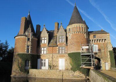 Restauration de château