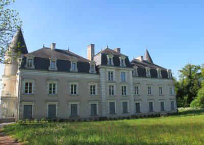 Restauration de chateau
