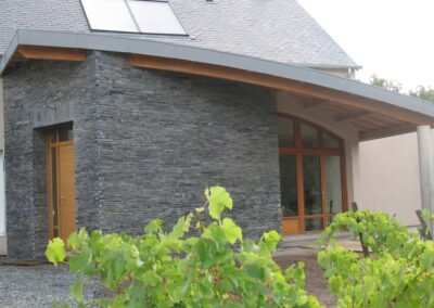 Décoration façade maison de Vihiers