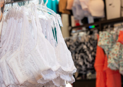 Lingeries blanches