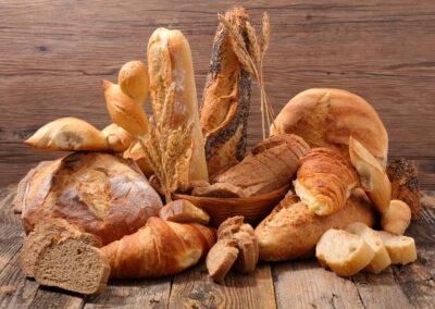 Pain et viennoiserie de boulangerie
